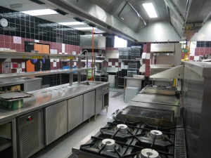 Excellent kitchen facilities at KDU College Penang