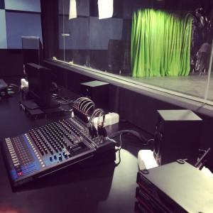 TV Control Room at KDU University College new campus at Utropolis Glenmarie