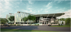 APU's new ultra-modern University Campus located within Technology Park Malaysia (TPM) set to be ready in early 2015.