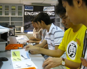 Engineering lab at KDU College Penang