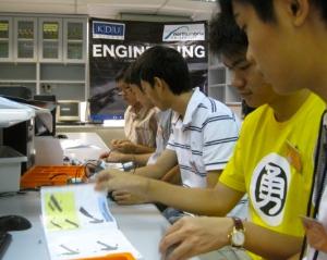 Engineering lab at KDU College Penang