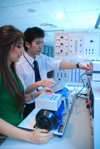 Asia Pacific University offers electrical & electronic engineering and mechatronic engineering degree courses