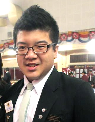 """""""Using statistics and research, EduSpiral helped to convince my parents to allow me to study psychology."""" Dominic Chong"""