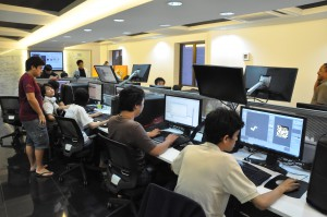KDU University College offers the degree in Games Development. Students have access to Alienware in their Game Lab.