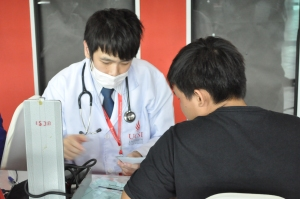 Pharmacy students at UCSI are given plenty opportunities to interact with the public to improve on their communication skills