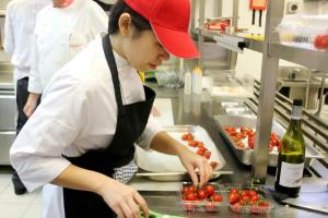 Culinary students have a wide range of hotels & restaurants to do their internships or practical.