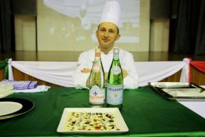 Chef Bruno Ruffini, ALMA La Scuola internazionale di cucina italiana Parmigiano Reggiano — at KDU University College.