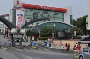 Top Ranked UCSI University's campus at Kuala Lumpure