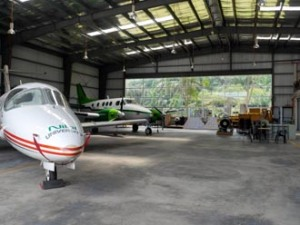 Nilai is the only university in Malaysia with its own hangar and planes