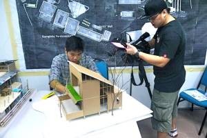 ALFA College Diploma in Architecture students and their project