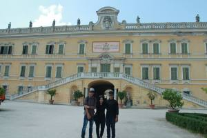 KDU University College culinary students Azfar, Gladlyn and Daniel at ALMA in Italy for their 7-month internship
