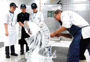 Ice Carving Room at KDU University College