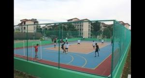 4-in-1 court at Nilai University's 105-acre campus