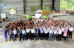 Nilai University Aircraft Maintenance Engineering is the best in Malaysia