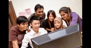 Computer lab at Nilai University