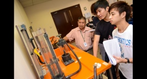 Engineering lab at Nilai University