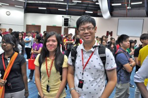 EduSpiral advised us that the Foundation in Science going into Pharmacy would be our best choice with our results. Leow En Qi and Sin Jie at UCSI University's Orientation.