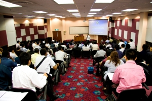 Lecture theatre at Asia Pacific University