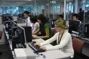 Computer lab at Asia Pacific University (APU)
