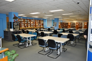 Asia Pacific University library