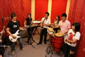 UCSI University houses music practice rooms equipped with grand pianos and other instruments, professional recording studios, music hall, and more
