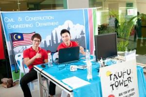 Curtin Sarawak Civil Engineering students