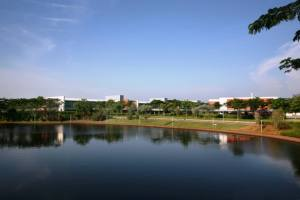 Curtin University Sarawak is Curtin University's largest branch campus with 300-acre campus next to a lake
