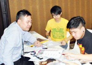 """I attended EduSpiral's Education Fair at KInta Riverfront after my SPM exam in December and obtained great information there. Although Asia Pacific University is famous for IT but I found out that they have a solid accounting programme and I can get a UK degree. I got a scholarship as well from APU."" Julian Hum, far right from SMK St. Michael Institution."