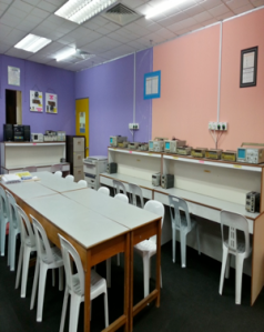Electronics Lab at ITB