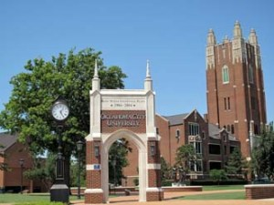 Oklahoma City University is a top rated university in the USA