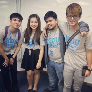EduSpiral has given me great advise to choose the right course. Jun Sern (far right), Mass Comm at KDU University College