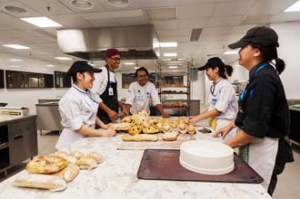 The new KDU University College campus boasts of specialised culinary facilities, such as this Pastry kitchen