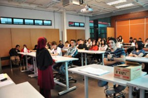 Architecture students learn from experienced and qualified lecturers at UCSI University