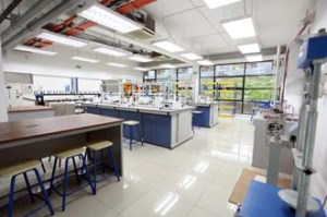 Material Science & Petrology Soil Mechanics Lab for Petroleum Engineering students at UCSI University