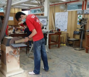 Woodwork workshop for Architecture & Interior Architecture students at UCSI University