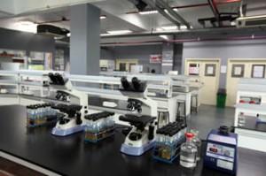 Chemistry lab at UCSI University