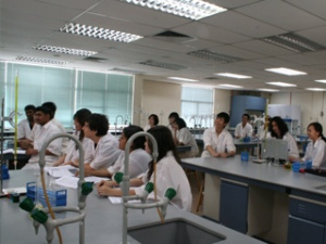 A-Levels Science lab at KDU College Penang