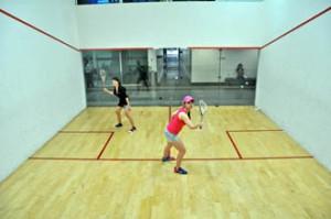 Squash court at UCSI University