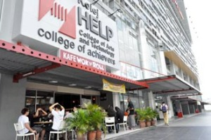HELP College of Arts and Technology is located near the Chan Sow Lin LRT & shops