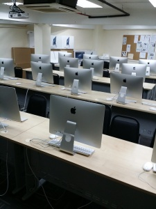 Mac Lab at UCSI University for Design students