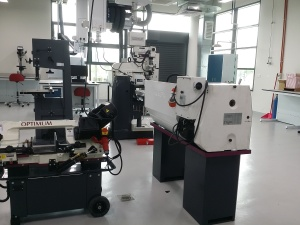 Mechanical Engineering lab at Heriot-Watt University Malaysia