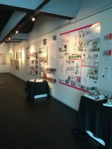 Gallery Showcasing Design Students' Work at Malaysian Institute of Art (MIA)
