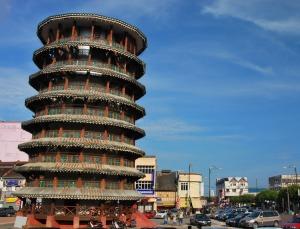 Leaning Tower of Teluk Intan, Perak