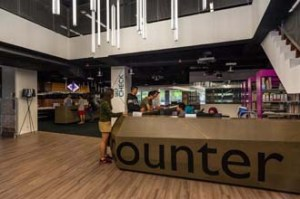 KDU University College's 50,000-sq ft library with coffee bar, learning pods and reading areas promoting collaborative activities and student interaction
