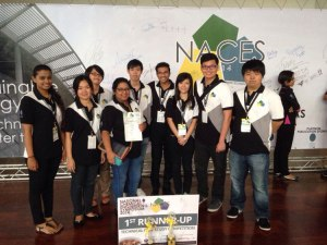 Curtin Sarawak chemical engineering students top winners in NACES 2014