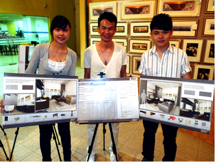 Malaysian Institute Of Art MIA First Prize Winners Low Poh Shi Left
