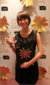 Malaysian Institute of Art (MIA) Graphic Design student, Khoo Xiao Yun won the Distinction Prize of a trophy, a certificate and cash US $900 in Students' Face Off category of Conqueror Design & Print Awards 2010/2011