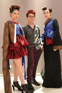 Malaysian Institute of Art (MIA) Textile & Fashion Design student Lim Jia Hui, winner of Sakura Collection Students Awards 2013