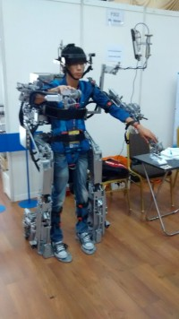 """The winning Malaysian entry in 2014, submitted by UCSI University engineering student Desmond Tan Mun Yung, was a full-body """"exoskeleton"""" which aims to help disabled patients with movement."""