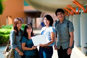 Top students from all over Malaysi choose to study at the 300-acre top ranking Curtin University Sarawak